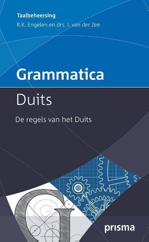 Grammatica Duits - R.K. Engelen |