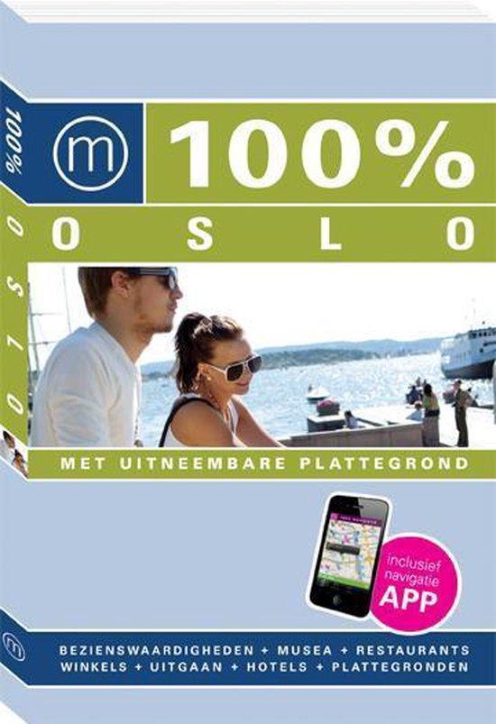 Cover van het boek '100% Oslo / druk Heruitgave' van Cecile van Sasse