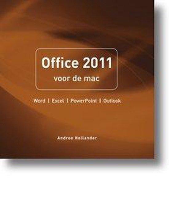 Pearson Education Office 2011 voor de Mac - Andree Hollander |
