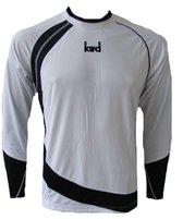 KWD Shirt Nuevo lange mouw - Wit/zwart - Maat XL