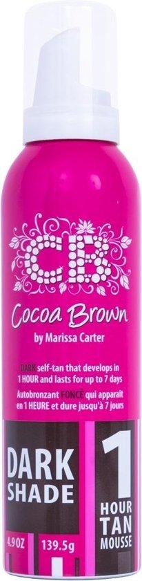 Cocoa Brown 1Hr Dark Tan Mousse - 150 ml - Zelfbruiner