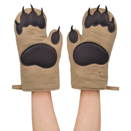 Ovenwanten Bear Hands - Fred - Fred