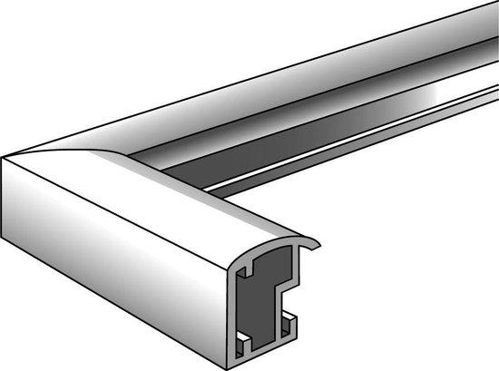 Walther Trendstyle - Fotolijst - Fotoformaat 40x50 cm - Zilver