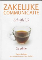 Boek cover Zakelijke Comm - Schrift 2/E van Karen Knispel