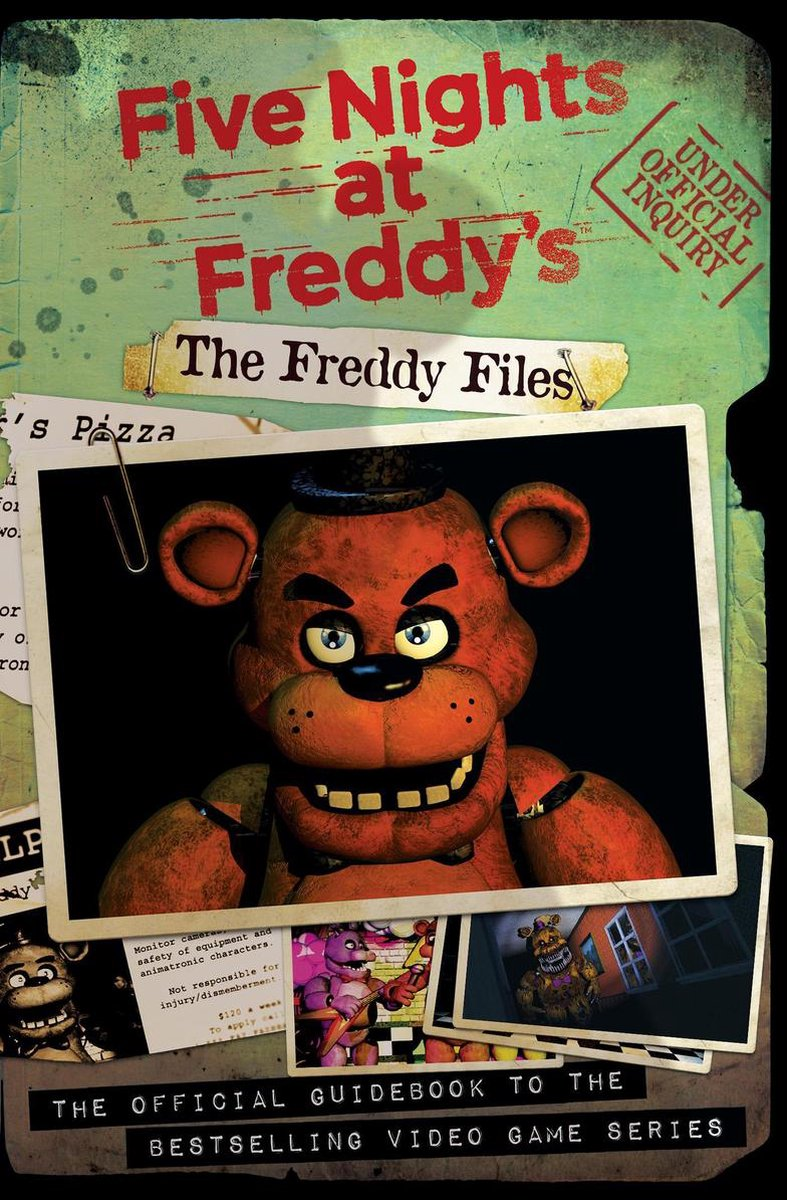 The Freddy Files (Five Nights At Freddy's) - Scott Cawthon