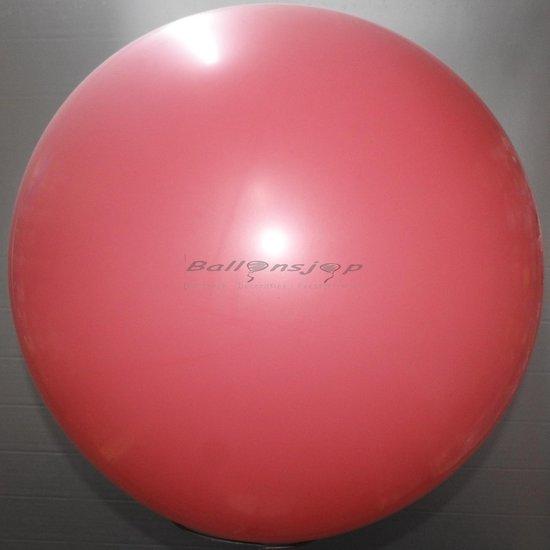 reuze ballon 60 cm  24 inch magenta