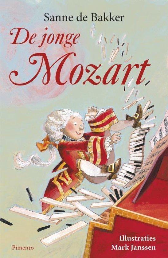 Boek cover De jonge Mozart van Sanne de Bakker (Paperback)