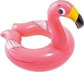 Opblaasbare flamingo zwemband 62 cm - Zwembenodigdheden - Zwemringen - Dieren thema - Flamingo zwembanden voor kinderen