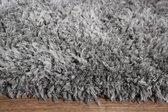 Floki - Hoogpolig Vloerkleed - Antraciet - 160 x 230 cm
