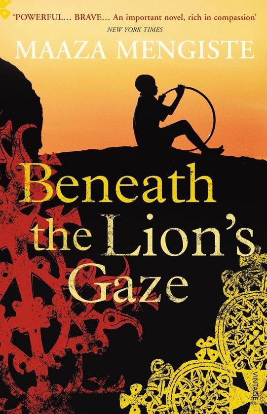 Boek cover Beneath the Lions Gaze van Maaza Mengiste (Onbekend)
