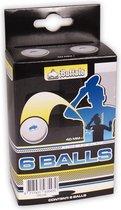 Buffalo Tafeltennisballetjes - Competitie - 3 Ster - Celluloidvrij - 6 stuks