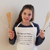 Keukenschort 'Bij Opa En Oma Thuis'