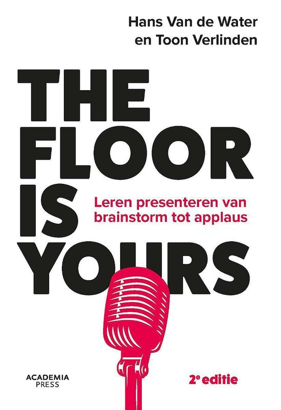THE FLOOR IS YOURS - Hans van de Water |