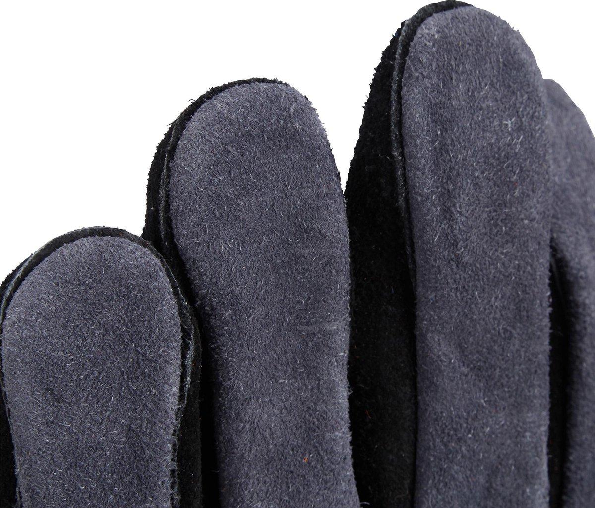 relaxdays BBQ handschoenen leer - ovenhandschoen - hittebestendig - XL - ovenhandschoenen - Relaxdays