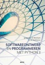 Softwareontwerp en Programmeren met Python 3