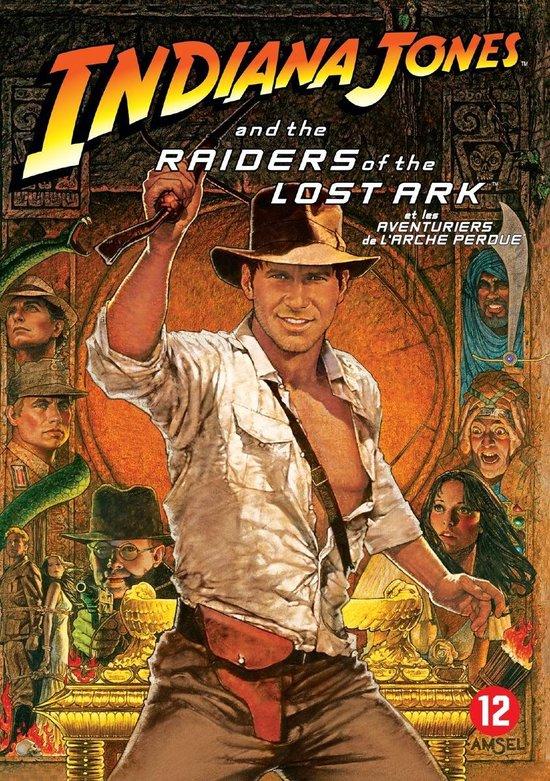 Cover van de film 'Indiana Jones - Raiders of the Lost Ark'