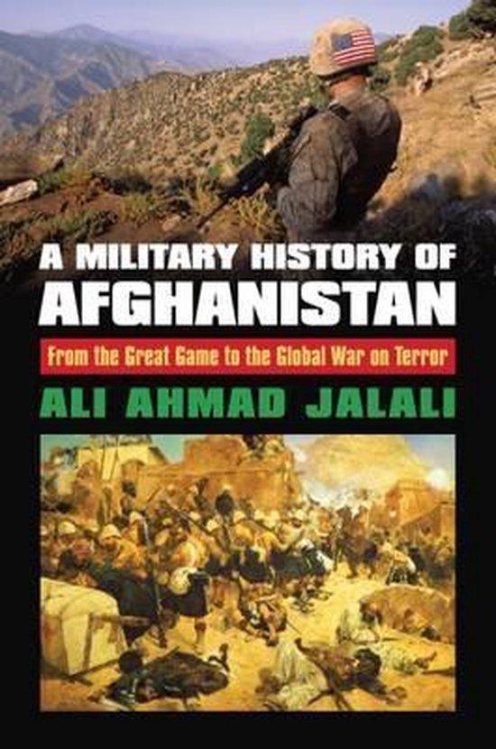Boek cover A Military History of Afghanistan van Ali Ahmad Jalali (Hardcover)