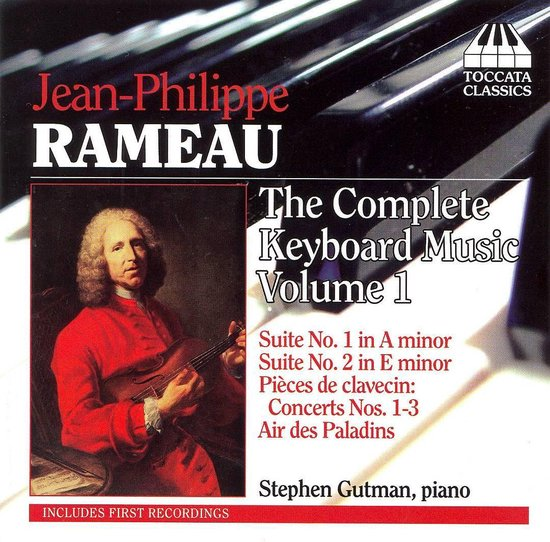 Rameau: Complete Keyboard Music 1