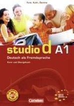 Studio D A1 - Gesamtband 1 (Einheit 1-12) Kurs-/Übungsbuch + Lerner-CD