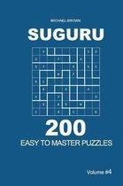 Suguru - 200 Easy to Master Puzzles 9x9 (Volume 4)