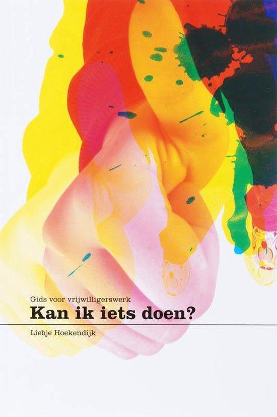 Cover van het boek ''Kan ik iets doen?'' van L. Hoekendijk