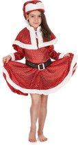 """""""Kerstmis kerstvrouw kostuum voor meisjes - Kinderkostuums - 98/104"""""""