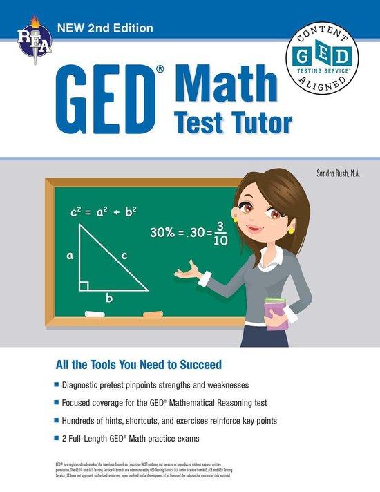 GED® Math Test Tutor, 2nd Edition