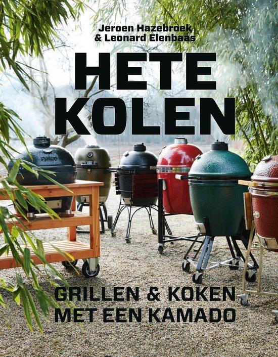 Boek cover Hete kolen van Jeroen Hazebroek (Hardcover)
