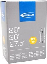 Schwalbe DV19 - Binnenband Fiets - Hollands Ventiel - 40 mm - 28 x 1 1/2 - 150 - 235