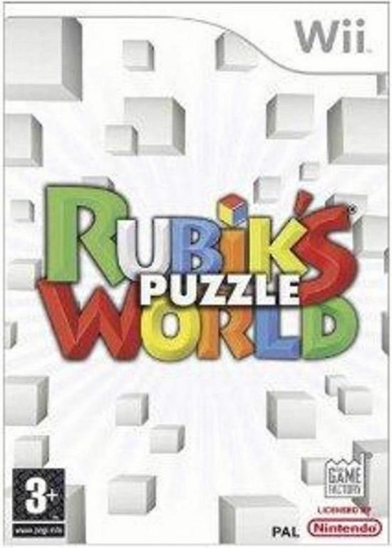 Rubiks Puzzle World /Wii