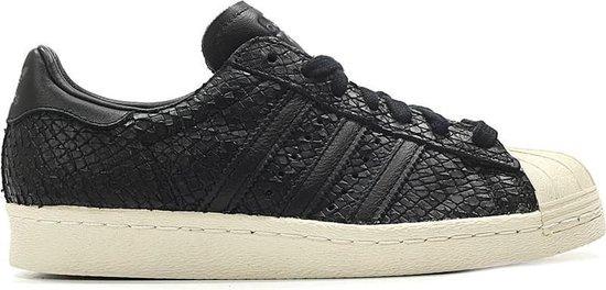 bol.com | Adidas Sneakers Superstar 80's Dames Zwart Maat 39 1/3