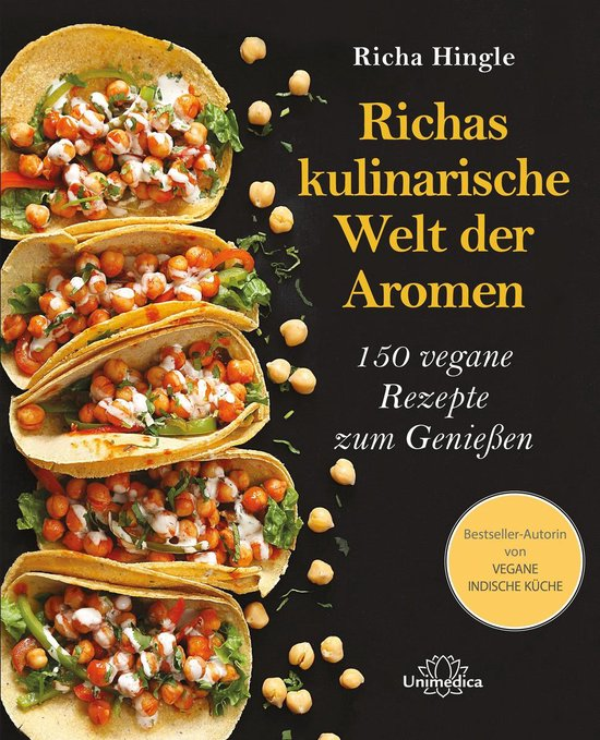 Boek cover Richas kulinarische Welt der Aromen van Richa Hingle (Onbekend)