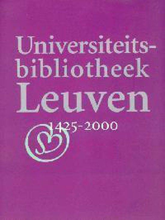 Universiteitsbibliotheek Leuven 1425-2000 - none |