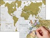 Kras de Wereld® - Engelse uitvoering met luxe afwerking - Maps International