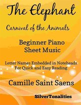 The Elephant the Carnival of the Animals Beginner Piano Sheet Music