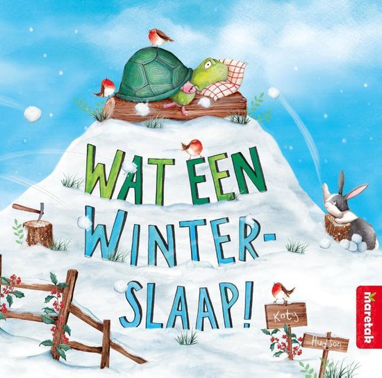 Wat een winterslaap! - Katy Hudson | Readingchampions.org.uk