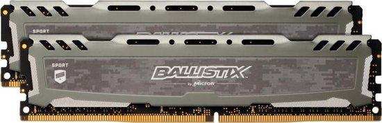 Crucial Ballistix Sport LT geheugenmodule 32 GB DDR4 3000 MHz
