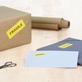 Herma etiketten geel 70x37 20 vel DIN A4 480 stuks 4466