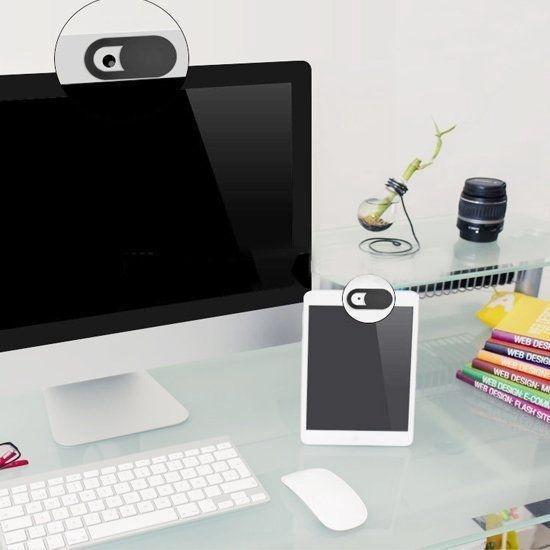 Webcam Cover Privacy Protector Ultradun - 3 stuks - Webcam Slider - Voor Laptop, Tablet en Telefoon