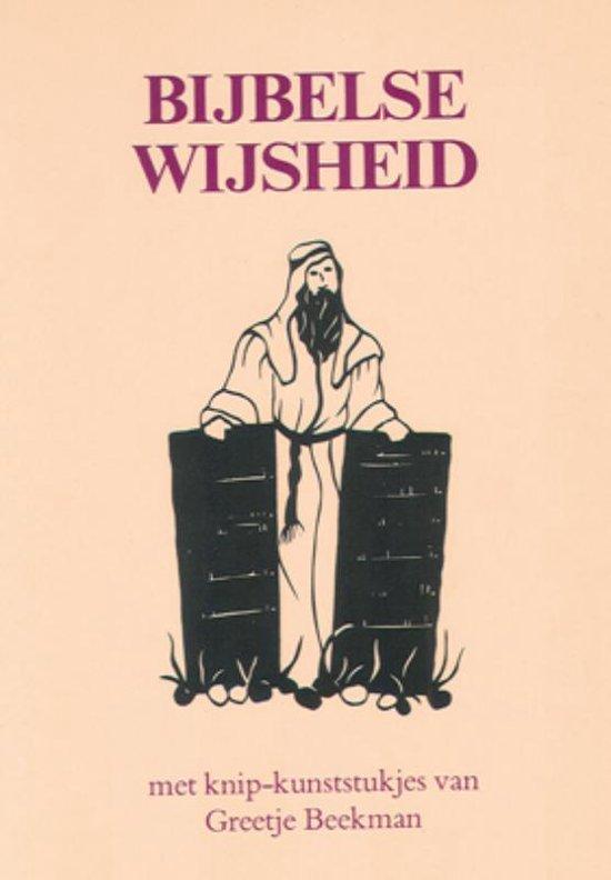Boek cover Bijbelse Wijsheden van I. Stork