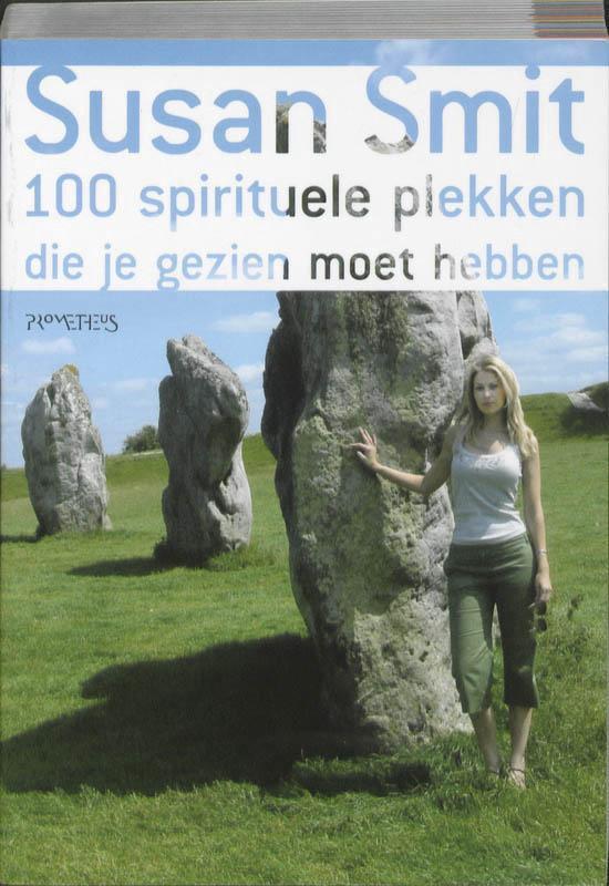Cover van het boek '100 spirituele plekken' van S. Smit