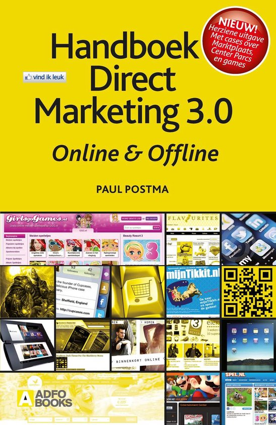 Handboek Direct Marketing 3.0 - Paul Postma pdf epub