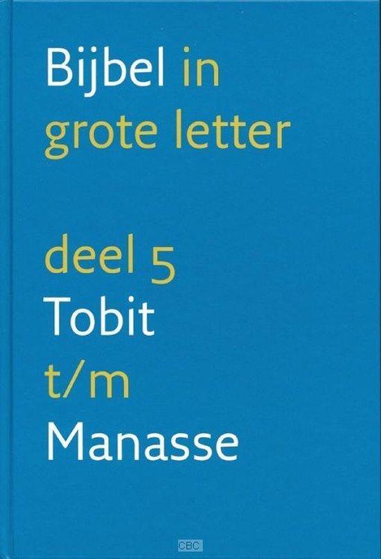 NBV Bijbel in grote letter 5 Tobit t/m Manasse - Onbekend |