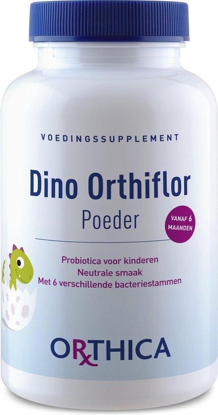 Orthica Dino Orthiflor Poeder Probiotica Voor Kinderen Voedingssupplement
