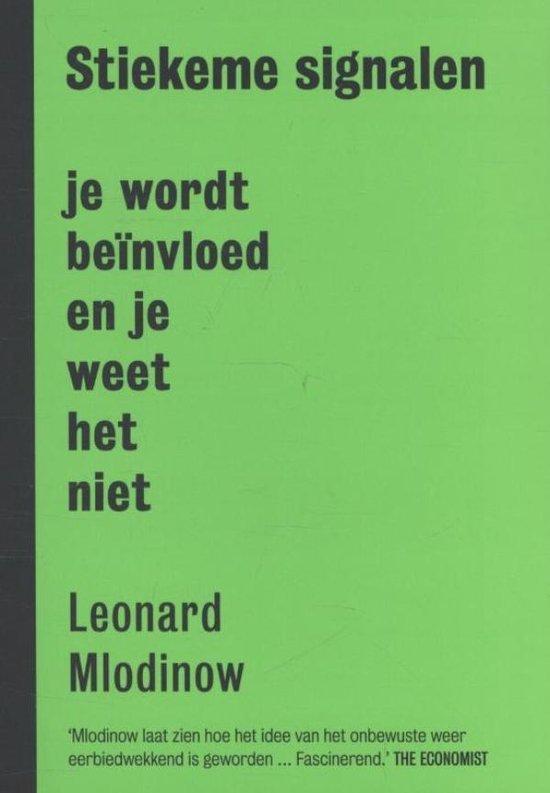 Stiekeme signalen - Leonard Mlodinow pdf epub