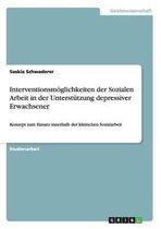 Interventionsmoeglichkeiten der Sozialen Arbeit in der Unterstutzung depressiver Erwachsener