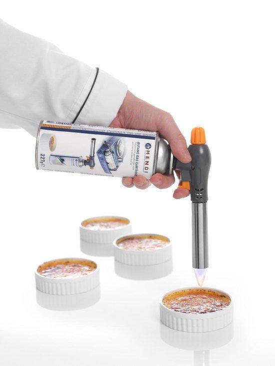 Hendi Crème-Brûlée Brander - inclusief gasbus