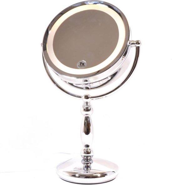 Gérard Brinard 2 zijdig verlichte make up spiegel 5x vergroting - Ø17cm spiegels - Gerard Brinard