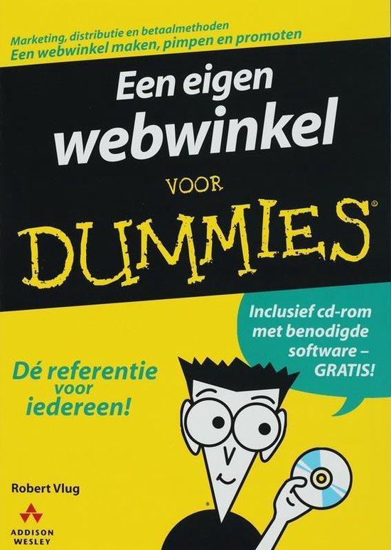 Voor Dummies - Een eigen webwinkel voor Dummies