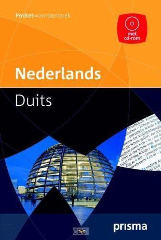 Boek cover Pocket Dictionary Dutch - German With Cd Rom van G. A. M. M. Van der Linden (Paperback)